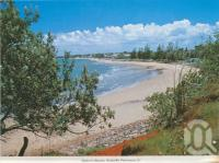 """<span class=""""caption-caption"""">Sutton's Beach, Redcliffe Peninsula</span>, c1965. <br />Postcard by <span class=""""caption-publisher"""">Murray Views Pty Ltd</span>, collection of <span class=""""caption-contributor"""">Centre for the Government of Queensland</span>."""