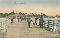 "<span class=""caption-caption"">View from the pier, Sandgate</span>, c1910. <br />Postcard by <span class=""caption-publisher"">Retrac Series</span>, collection of <span class=""caption-contributor"">Centre for the Government of Queensland</span>."