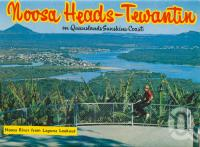 "<span class=""caption-caption"">Noosa Heads-Tewantin, Noosa River from Laguna Lookout</span>, c1963. <br />Postcard folder by <span class=""caption-publisher"">Bernard Kuskopf</span>, collection of <span class=""caption-contributor"">Centre for the Government of Queensland</span>."