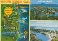 "<span class=""caption-caption"">Noosa Heads</span>, 1983. <br />Postcard by <span class=""caption-publisher"">Bernard Kuskopf</span>, collection of <span class=""caption-contributor"">Centre for the Government of Queensland</span>."