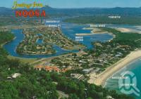 "<span class=""caption-caption"">Noosa</span>, c1995. <br />Postcard by <span class=""caption-publisher"">Wren Souvenirs</span>, collection of <span class=""caption-contributor"">Centre for the Government of Queensland</span>."