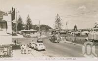 """<span class=""""caption-caption"""">The border gates, Queensland and NSW at Coolangatta</span>, c1958. <br />Postcard by <span class=""""caption-publisher"""">Sidues Series</span>, collection of <span class=""""caption-contributor"""">Centre for the Government of Queensland</span>."""