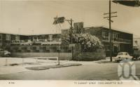 """<span class=""""caption-caption"""">77 Sunset Strip Coolangatta</span>, c1958. <br />Postcard by <span class=""""caption-publisher"""">Genuine Photograph</span>, collection of <span class=""""caption-contributor"""">Centre for the Government of Queensland</span>."""
