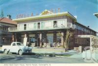 """<span class=""""caption-caption"""">Stella Maris Guest House, Marine Parade, Coolangatta</span>, 1962. <br />Postcard folder by <span class=""""caption-publisher"""">Murray Views Pty Ltd</span>, collection of <span class=""""caption-contributor"""">Centre for the Government of Queensland</span>."""
