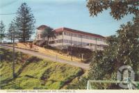 """<span class=""""caption-caption"""">Greenmount Guest House, Greenmount Hill, Coolangatta</span>, 1962. <br />Postcard folder by <span class=""""caption-publisher"""">Murray Views Pty Ltd</span>, collection of <span class=""""caption-contributor"""">Centre for the Government of Queensland</span>."""
