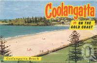"""<span class=""""caption-caption"""">Coolangatta Beach</span>, c1958. <br />Postcard folder by <span class=""""caption-publisher"""">Murray Views Pty Ltd</span>, collection of <span class=""""caption-contributor"""">Centre for the Government of Queensland</span>."""