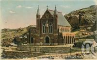 "<span class=""caption-caption"">Church of Sacred Heart, Townsville</span>, c1910. <br />Postcard by <span class=""caption-publisher"">Willmetts</span>, collection of <span class=""caption-contributor"">Centre for the Government of Queensland</span>."