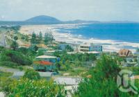 "<span class=""caption-caption"">Alexandra Headland</span>, c1972. <br />Postcard by <span class=""caption-publisher"">Bernard Kuskopf</span>, collection of <span class=""caption-contributor"">Centre for the Government of Queensland</span>."