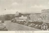 "<span class=""caption-caption"">Currie Street, Nambour</span>, c1960. <br />Postcard folder by <span class=""caption-publisher"">Murray Views Pty Ltd</span>, collection of <span class=""caption-contributor"">Centre for the Government of Queensland</span>."
