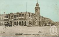 "<span class=""caption-caption"">Post Office, Rockhampton</span>, 1906. <br />Postcard by <span class=""caption-publisher"">Unknown Publisher</span>, collection of <span class=""caption-contributor"">Centre for the Government of Queensland</span>."