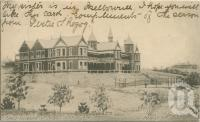 "<span class=""caption-caption"">Girls Grammar School, Rockhampton</span>, 1905. <br />Postcard by <span class=""caption-publisher"">Unknown Publisher</span>, collection of <span class=""caption-contributor"">Centre for the Government of Queensland</span>."