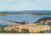 "<span class=""caption-caption"">The lake and causeway, scenic drive, Emu Park, Yeppoon</span>, 1965. <br />Postcard folder by <span class=""caption-publisher"">Murray Views Pty Ltd</span>, collection of <span class=""caption-contributor"">Centre for the Government of Queensland</span>."