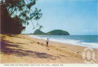 "<span class=""caption-caption"">Double Head and Kemp Beach, scenic drive, Emu Park, Yeppoon</span>, 1965. <br />Postcard folder by <span class=""caption-publisher"">Murray Views Pty Ltd</span>, collection of <span class=""caption-contributor"">Centre for the Government of Queensland</span>."