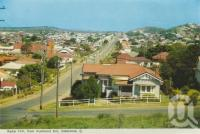 "<span class=""caption-caption"">Radar Hill from Auckland Hill, Gladstone</span>, c1960. <br />Postcard folder by <span class=""caption-publisher"">Murray Views Pty Ltd</span>, collection of <span class=""caption-contributor"">Centre for the Government of Queensland</span>."