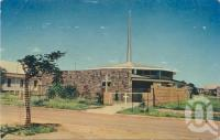 "<span class=""caption-caption"">St Andrew's Church of England, Longreach</span>, c1962. <br />Postcard by <span class=""caption-publisher"">Sidues Series</span>, collection of <span class=""caption-contributor"">Centre for the Government of Queensland</span>."