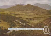 """<span class=""""caption-caption"""">Redlynch showing Barron River</span>, 1938. <br />Postcard folder by <span class=""""caption-publisher"""">Murray Views Pty Ltd</span>, collection of <span class=""""caption-contributor"""">Centre for the Government of Queensland</span>."""