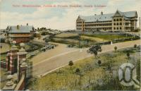 "<span class=""caption-caption"">Mater Misericordiae, Public & Private Hospital, South Brisbane</span>, c1910. <br />Postcard by <span class=""caption-publisher"">White Series</span>, collection of <span class=""caption-contributor"">Centre for the Government of Queensland</span>."