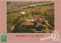 "<span class=""caption-caption"">Aerial view looking north with the Country Club in the foreground, Sanctuary Cove</span>, c1995. <br />Postcard by <span class=""caption-publisher"">Murray Views Pty Ltd</span>, collection of <span class=""caption-contributor"">Centre for the Government of Queensland</span>."