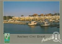 "<span class=""caption-caption"">Harbour front villas, Sanctuary Cove</span>, c1995. <br />Postcard by <span class=""caption-publisher"">Murray Views Pty Ltd</span>, collection of <span class=""caption-contributor"">Centre for the Government of Queensland</span>."
