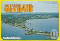 "<span class=""caption-caption"">Aerial view of Cleveland</span>, c1980. <br />Postcard folder by <span class=""caption-publisher"">Sydney G Hughes Pty Ltd</span>, collection of <span class=""caption-contributor"">Centre for the Government of Queensland</span>."