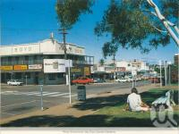 "<span class=""caption-caption"">West Street from the Civic Centre gardens, Mount Isa</span>, c1990. <br />Postcard folder by <span class=""caption-publisher"">Murray Views Pty Ltd</span>, collection of <span class=""caption-contributor"">Centre for the Government of Queensland</span>."