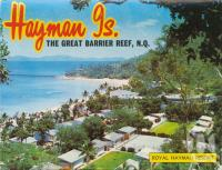 "<span class=""caption-caption"">Royal Hayman Resort</span>, 1975. <br />Postcard folder by <span class=""caption-publisher"">Murray Views Pty Ltd</span>, collection of <span class=""caption-contributor"">Centre for the Government of Queensland MS</span>."