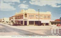"<span class=""caption-caption"">Bowen Council Chambers, Herbert Street, Bowen</span>, c1955. <br />Postcard folder by <span class=""caption-publisher"">Sydney G Hughes Pty Ltd</span>, collection of <span class=""caption-contributor"">Centre for the Government of Queensland MS</span>."