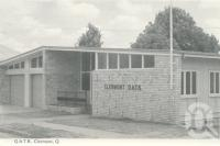 "<span class=""caption-caption"">QATB, Clermont</span>, c1961. <br />Postcard folder by <span class=""caption-publisher"">Murray Views Pty Ltd</span>, collection of <span class=""caption-contributor"">Centre for the Government of Queensland MS</span>."