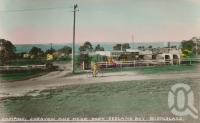 "<span class=""caption-caption"">Camping, Caravan and Picnic Park, Redland Bay</span>, c1950. <br />Postcard by <span class=""caption-publisher"">Unknown Publisher</span>, collection of <span class=""caption-contributor"">Centre for the Government of Queensland MS</span>."