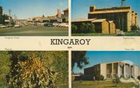 "<span class=""caption-caption"">Kingaroy</span>, c1964. <br />Postcard by <span class=""caption-publisher"">Samuel Lee & Co Pty Ltd</span>, collection of <span class=""caption-contributor"">Centre for the Government of Queensland MS</span>."