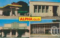 """<span class=""""caption-caption"""">Alpha</span>, c1974. <br />Postcard by <span class=""""caption-publisher"""">Pitt</span>, collection of <span class=""""caption-contributor"""">Centre for the Government of Queensland MS</span>."""