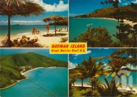 "<span class=""caption-caption"">Hayman Island</span>, c1962. <br />Postcard by <span class=""caption-publisher"">Peer Productions</span>, collection of <span class=""caption-contributor"">Centre for the Government of Queensland MS</span>."