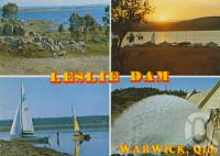 "<span class=""caption-caption"">Leslie Dam, Warwick</span>, 1976. <br />Postcard by <span class=""caption-publisher"">ICP</span>, collection of <span class=""caption-contributor"">Centre for the Government of Queensland</span>."