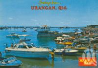 "<span class=""caption-caption"">Urangan, Hervey Bay</span>, 1985. <br />Postcard by <span class=""caption-publisher"">Bernard Kuskopf</span>, collection of <span class=""caption-contributor"">Centre for the Government of Queensland</span>."