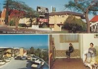 "<span class=""caption-caption"">Annerley Motel, Ipswich Road Annerley</span>, 1985. <br />Postcard by <span class=""caption-publisher"">Unknown Publisher</span>, collection of <span class=""caption-contributor"">Centre for the Government of Queensland</span>."