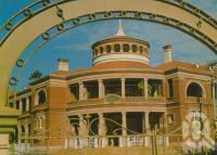 """<span class=""""caption-caption"""">Customs House, Townsville</span>, c1974. <br />Postcard by <span class=""""caption-publisher"""">Nu-Color-Vue</span>, collection of <span class=""""caption-contributor"""">Centre for the Government of Queensland</span>."""
