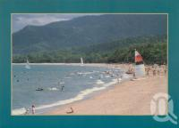 "<span class=""caption-caption"">Palm Cove, one of Cairns northern beaches</span>, c1996. <br />Postcard by <span class=""caption-publisher"">Robert Brown</span>, collection of <span class=""caption-contributor"">Centre for the Government of Queensland</span>."