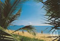 "<span class=""caption-caption"">Melaleuca resort, Palm Cove</span>, 1987. <br />Postcard by <span class=""caption-publisher"">Unknown Publisher</span>, collection of <span class=""caption-contributor"">Centre for the Government of Queensland</span>."