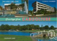 "<span class=""caption-caption"">Caboolture</span>, 1995. <br />Postcard by <span class=""caption-publisher"">Sydney G. Hughes Pty Ltd</span>, collection of <span class=""caption-contributor"">Centre for the Government of Queensland</span>."