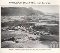 "<span class=""caption-caption"">Hambledon Sugar Mill, near Edmonton</span>. <br />From <span class=""caption-book"">Mulgrave Shire</span>, <span class=""caption-publisher"">Mulgrave Shire Council</span>, 1954, collection of <span class=""caption-contributor"">Fryer Library, UQ</span>."