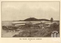 "<span class=""caption-caption"">The wharf, Mourilyan harbour</span>. <br />From <span class=""caption-book"">Picturesque Innisfail, North Queensland</span>, <span class=""caption-publisher"">WG Redmond</span>, 1930, collection of <span class=""caption-contributor"">Fryer Library, UQ</span>."