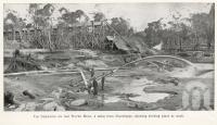 """<span class=""""caption-caption"""">Tin dredging on the Rover Mine, 4 miles from Stanthorpe</span>. <br />From <span class=""""caption-book"""">Tours on the Darling Downs, Queensland</span>, <span class=""""caption-publisher"""">Queensland Railways</span>, 1915, collection of <span class=""""caption-contributor"""">Fryer Library, UQ</span>."""