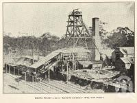 """<span class=""""caption-caption"""">Messrs Walker & Co's 'Aberdare Extended' Mine, near Ipswich</span>. <br />From <span class=""""caption-book"""">The History of Queensland</span>, <span class=""""caption-publisher"""">States Publishing Company</span>, 1919, collection of <span class=""""caption-contributor"""">Fryer Library, UQ</span>."""
