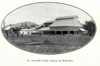 """<span class=""""caption-caption"""">An up-to-date butter factory at Biggenden</span>. <br />From <span class=""""caption-book"""">The Queenslander Annual</span>, <span class=""""caption-publisher"""">Queensland Newspapers</span>, 1930, collection of <span class=""""caption-contributor"""">Fryer Library, UQ</span>."""