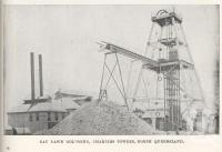 "<span class=""caption-caption"">Day Dawn Goldmine, Charters Towers</span>. <br />From <span class=""caption-book"">North Queensland, Australia</span>, <span class=""caption-publisher"">Queensland Government Intelligence and Tourist Bureau</span>, 1908, collection of <span class=""caption-contributor"">Fryer Library, UQ</span>."