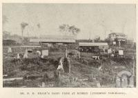 "<span class=""caption-caption"">Dairy farm at Kureen (Atherton Tableland)</span>. <br />From <span class=""caption-book"">Tablelands of North Queensland</span>, <span class=""caption-publisher"">Queensland Government Intelligence and Tourist Bureau</span>, 1918, collection of <span class=""caption-contributor"">Fryer Library, UQ</span>."