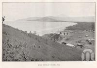 "<span class=""caption-caption"">Port Douglas Beach</span>. <br />From <span class=""caption-book"">North Queensland</span>, <span class=""caption-publisher"">Queensland Government Intelligence and Tourist Bureau</span>, 1928, collection of <span class=""caption-contributor"">Fryer Library, UQ</span>."
