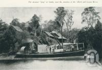 "<span class=""caption-caption"">The steamer ""Amy"" at Yatala</span>. <br />From <span class=""caption-book"">Gold Coast: The story of the Gold Coast of Queensland and Hinterland</span>, 1958, collection of <span class=""caption-contributor"">John Young</span>."