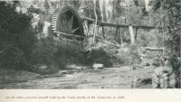 "<span class=""caption-caption"">An old water powered sawmill at Mt Tamborine</span>. <br />From <span class=""caption-book"">Gold Coast: The story of the Gold Coast of Queensland and Hinterland</span>, 1958, collection of <span class=""caption-contributor"">John Young</span>."
