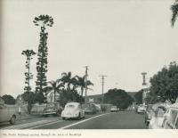 "<span class=""caption-caption"">The Pacific Highway passing through the town of Beenleigh</span>. <br />From <span class=""caption-book"">Gold Coast: The story of the Gold Coast of Queensland and Hinterland</span>, 1958, collection of <span class=""caption-contributor"">John Young</span>."